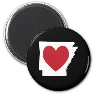 Heart Arkansas Fridge Magnets