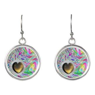 Heart Art Earrings