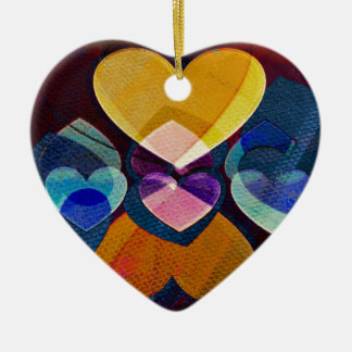 Heart Art | Fun To Love You Ceramic Ornament