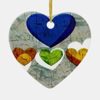 Heart Art | Heavenly Ceramic Ornament