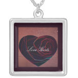 Heart Art-Love Hurts Necklace