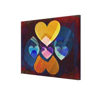 Heart Art   Yummy Canvas Print
