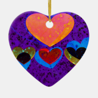 Heart Art | Yummy Ceramic Ornament