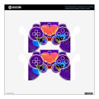 Heart Art | Yummy PS3 Controller Skin