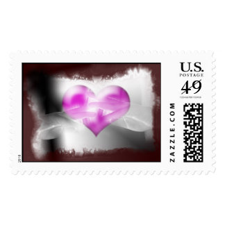 heart at hand postage stamp