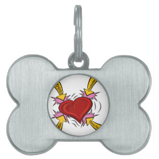 Heart Attack Causes Pet Tag