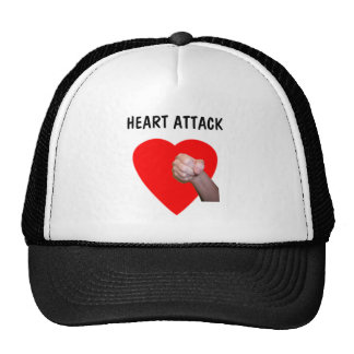 Heart Attack Mesh Hat