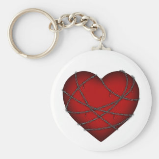 Heart Attack Key Chains