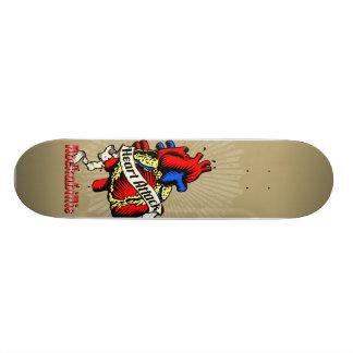 Heart Attack Skateboard Deck
