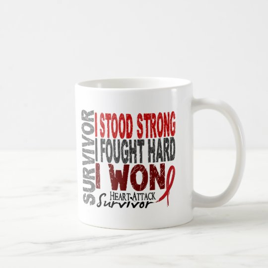 Heart Attack Survivor 4 Heart Disease Coffee Mug