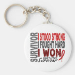 Heart Attack Survivor 4 Heart Disease Keychains