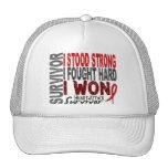 Heart Attack Survivor 4 Heart Disease Trucker Hats