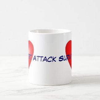 Heart Attack Survivor Coffee Mug