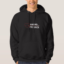 Heart Attack Survivor Recovery Get Well Gift Hoodie