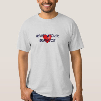 Heart Attack Survivor T-shirts