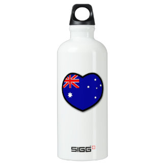 Heart Australia Water Bottle