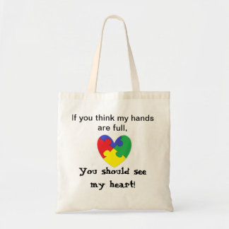 Heart Autism Bag