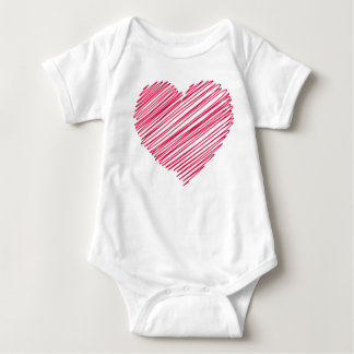 Heart Baby Bodysuit