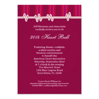 Heart Ball Fundraising Event Invitation