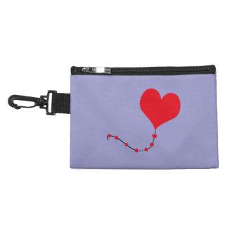 Heart Balloon Accessory Bag