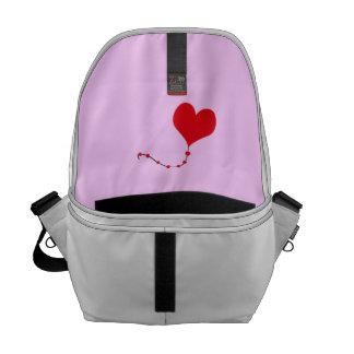 Heart Balloon Courier Bags