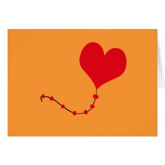 Heart Balloon Greeting Card