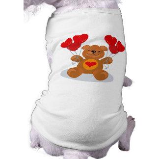 Heart Balloon Valentine Bear T-Shirt