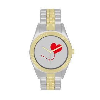 Heart Balloon Wrist Watches