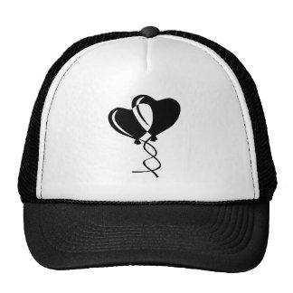 Heart Balloons; Cool Trucker Hat