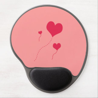 Heart Balloons Gel Mouse Pads