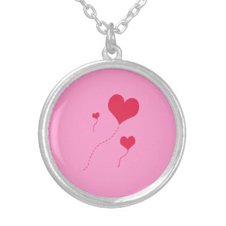 Heart Balloons Necklaces