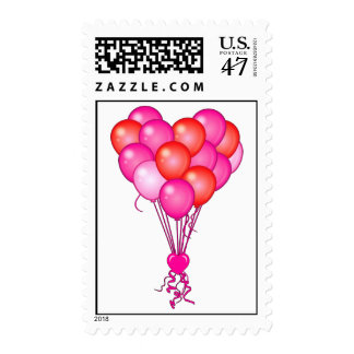 Heart Balloons Postage