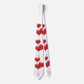 Heart Balloons Tie