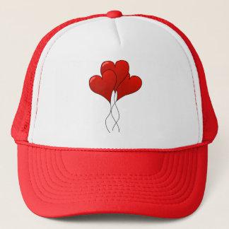Heart Balloons Trucker Hat