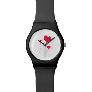 Heart Balloons Wristwatch