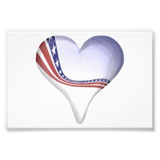 Heart Banner Photo Print