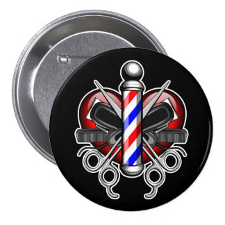 Heart Barbers Button