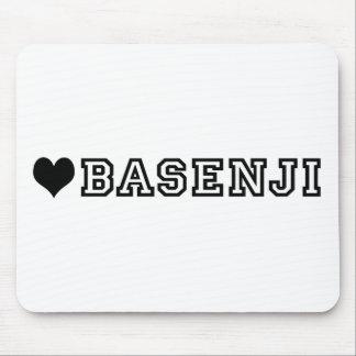 (heart) BASENJI Mouse Pad