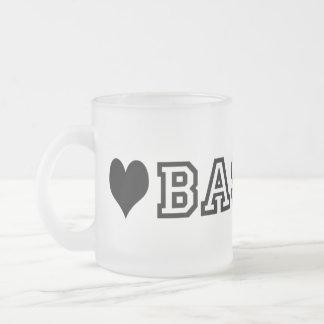(heart) BASENJI Mugs