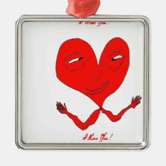 HEART BDDSHOP.png ARM Metal Ornament