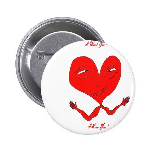 HEART BDDSHOP.png ARM Pinback Buttons