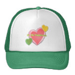 Heart Be The Happiness Mesh Hat