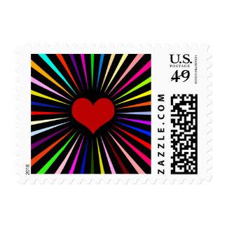 Heart Beam Stamp