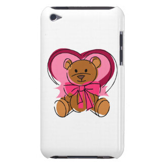 Heart Bear iPod Touch Case-Mate Case
