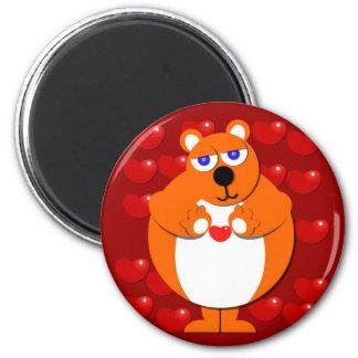 HEART BEAR Magnet