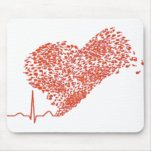 Heart_Beat Alfombrilla De Raton