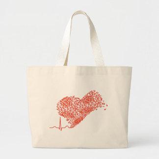 Heart_Beat Canvas Bag
