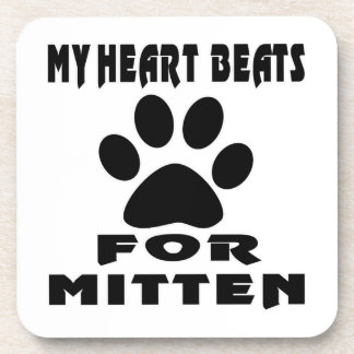 Heart Beat For MITTEN Coasters