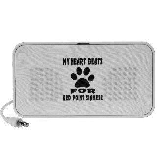 Heart Beat For RED POINT SIAMESE Mp3 Speaker