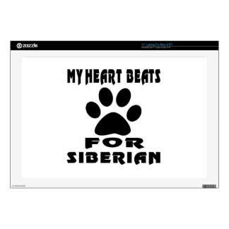 Heart Beat For SIBERIAN Decal For Laptop